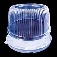 Пластиковая упаковка для торта на 0,75 кг 1171 ПЕТ