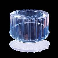 Упаковка для круглого торта примерно на 1кг  1432 п/б ПЕТ