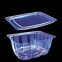 Упаковка для салатів. кулінарії 2244 з кришкою 2242 /514мл(500г)(600), фото 3