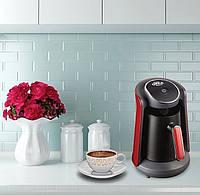 Кофемашина для турецкого кофе Arzum Okka Minio черная c красным