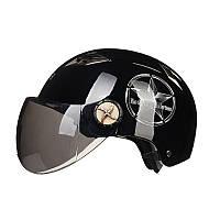 Мотоцикл скутер половина лица шлем защиты уф 7 цветов