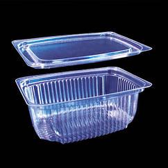 Одноразовая пластиковая упаковка для кулинарии  2202 (270мл) ПЭТ