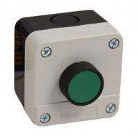 Пост кнопочный одноместный, 10A, 230/400B, (1 зеленая, NO+NC), Electro