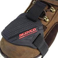 Резиновые сапоги мотоцикл обувь протектор крышки переключения передач носок