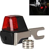 С автономным питанием освещения установлено электромагнитной индукции не батареи велосипеда задний свет диско свет велосипеда M58 GUB