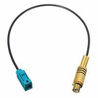 Автомобильный радиоприемник антенна кабель адаптера разъем FAKRA к ПКА женской грохоте для Vw брод