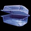 Універсальна пластикова упаковка для печива і кулінарії 2260(10) ПЕТ, фото 2
