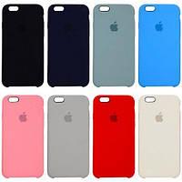 Original (HC) silicone case for iPhone 8 blue
