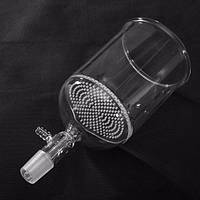 500 мл 24/40 прозрачная стеклянная воронка Бюхнера с 90 мм пор Пластина
