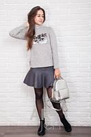 Модный молодежный свитер водолазка 42-46 р, доставка по Украине
