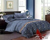 Комплект постельного белья сатин евро TM Tag 102
