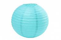 Бумажный подвесной шар светло голубой, 40 см