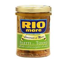 Тунец в оливковом масле Rio Mare Extra Filetti di Tonno, 180 г. Италия