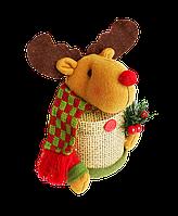 """Шоколадный новогодний подарок """"Happy deer"""" с конфетами, 85 гр"""