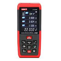 UNI-T UT395B профессиональный 70m лазерный измеритель расстояния Lofting тест выравнивания площадь инструмента/объем с USB разъемом для хранения да