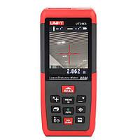 UNI-T UT396A профессиональный 80m лазерный измеритель расстояния угол дальномер площадь электронный уровень/объем+USB для хранения данных+2mp к