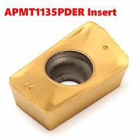 APMT1135PDER твердосплавные пластины поворота держатель инструмента вставок фрезерных твердосплавных пластин
