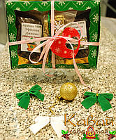 Подарочный новогодний набор зернового кофе и сладостей - шикарный презент на Новый год и Рождество!