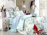 Комплект постельного белья сатин евро TM Tag 105