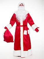 Костюм Деда Мороза классический красный мужской , фото 1