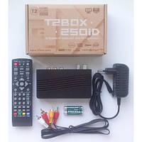 Цифровой эфирный T2 ресивер T2BOX-250iD Internet