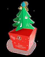 """Шоколадный новогодний подарок """"Christmas tree"""", с конфетами, 85 гр"""