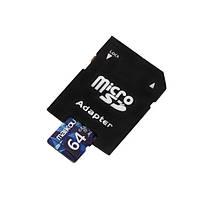 Оригинальный maikou class10 64g микро- карточка памяти SDXC с Micro SD для SD набор считывания карт