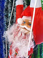 Новогодняя подвеска Bonita Дед Мороз 120 см лезет в окно
