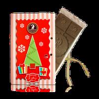 """Шоколад """"Поздравляем с Новым годом!"""" молочный, 80г,  в ассортименте (10 видов)"""