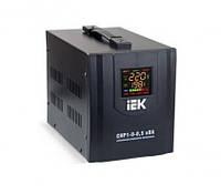 Cтабилизатор напряжения CHP1-0-0.5 кВА электронный переносной IEK