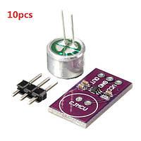 Электретный модуль датчика доски развития микрофонный усилитель для Arduino MAX9812L 10pcs cjmcu-9812