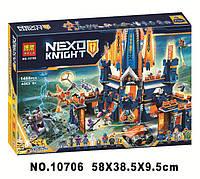 """Конструктор Bela 10706 Nexo Knights (аналог Лего 70357) """"Королевский замок Найтон"""", 1468 дет"""