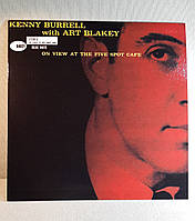 CD диск Kenny Burrell with Art Blakey - On View At The Five Spot Café