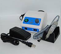 Фрезер для маникюра и педикюра SUPER NP3, белый, в минуту 35000 оборотов, мощность 60W, без вибрации, подставка, встроенный предохранитель