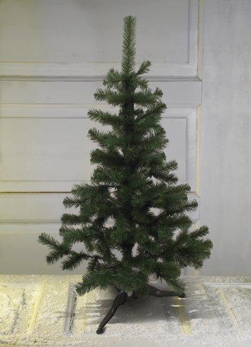 Новогодняя елка висота 140см цвет зеленый