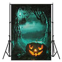 5x7ft винил ночь Хэллоуина тыквы фотографии фоном фотостудия фон