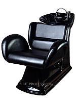 Мойка с креслом для парикмахерских 227, керамическая, Мойка с креслом парикмахерская, мойка для салонов, мойка для салона красоты