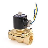 DC 12V электрический g1inch электромагнитный клапан для воздуха воды масла