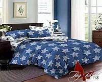 Комплект постельного белья сатин евро TM Tag 113