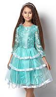 Нарядное,стильное платье для девочек рост от 122 до 146 розм.