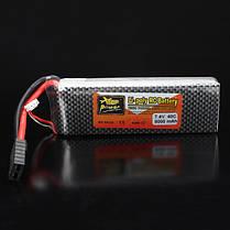 40c Lipo батареи TRX вилка с тревогой батареи для Traxxas 2S ZOP питания 7.4v 8000mAh, фото 3