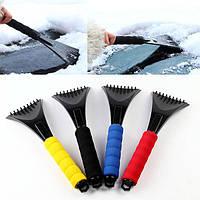 Портативный Губка Ева ручка снег removaling лопатой сад автомобиля лед чистый sceaper инструмент
