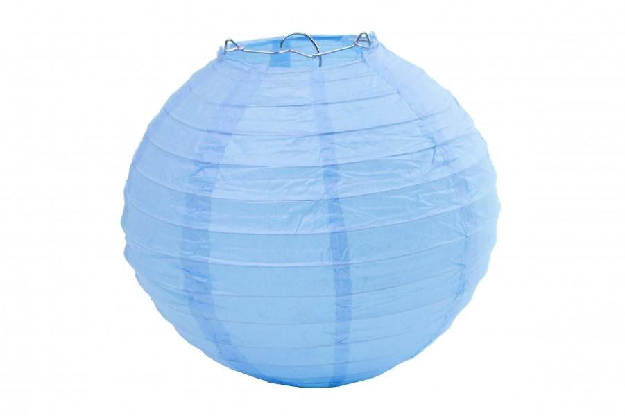 Бумажный подвесной шар бирюзово-голубой, 40 см