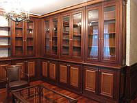 Мебель для библиотеки с массива дерева