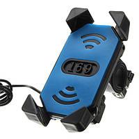 12V 3.5-6.0inch Телефон GPS USB перезаряжаемый держатель для электрических Авто мотоцикл Велосипед Scooter