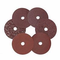 10pcs 16-120 крошка 4 дюйма абразива шлифовальные диски 16/36/60/80/120 грит для угловых шлифовальных машин