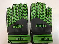 Перчатки вратарские детские MITER № 5 с защитой пальцев