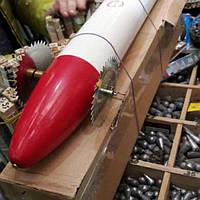 Торпеда термопласт Аккумуляторная (ракета, машинка) для протяжки снастей подо льдом