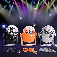 U`king rgbp 4 LED партии Xmas свет этапа хрустальный шар эффект освещения диско-клуб