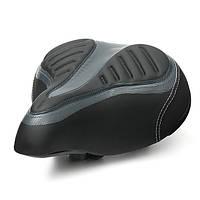 Широкий большой задницей велосипед Велоспорт гель крейсер дополнительный комфорт мягкий коврик седло сиденье